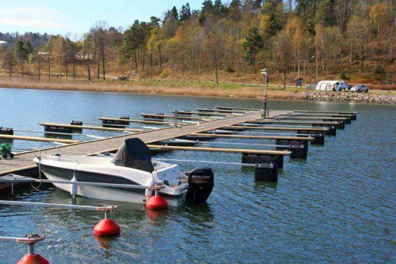 Nye utstikkere på Løvøya Båthavn