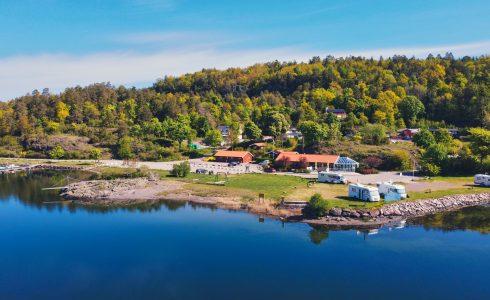 Løvøya Camping & Båthavn (Foto: Svend Aage Madsen)